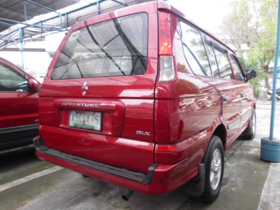 2004 Mitsubishi Adventure - Rear View