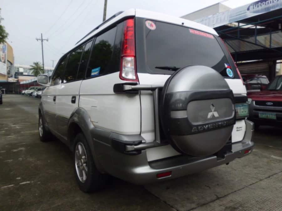 2010 Mitsubishi Adventure - Rear View