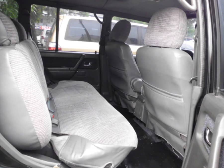 2002 Mitsubishi Pajero - Interior Rear View