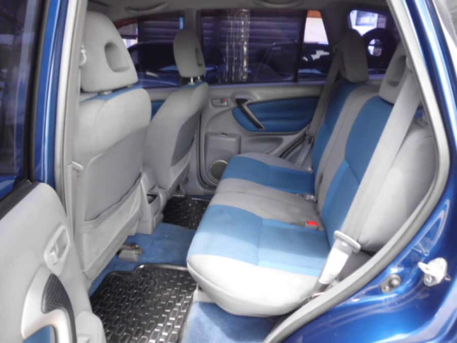 2001 Toyota RAV4 - Interior Rear View