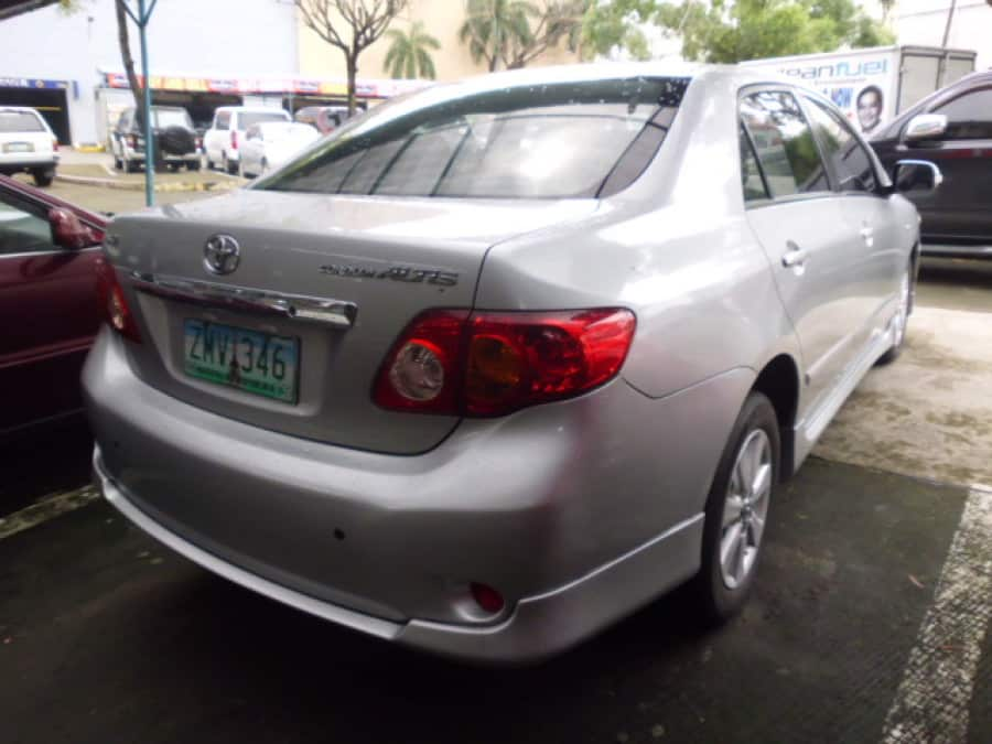 2008 Toyota Corolla Altis G - Rear View