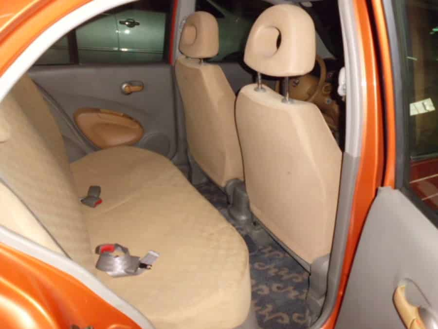 2003 Nissan Maxima - Interior Rear View