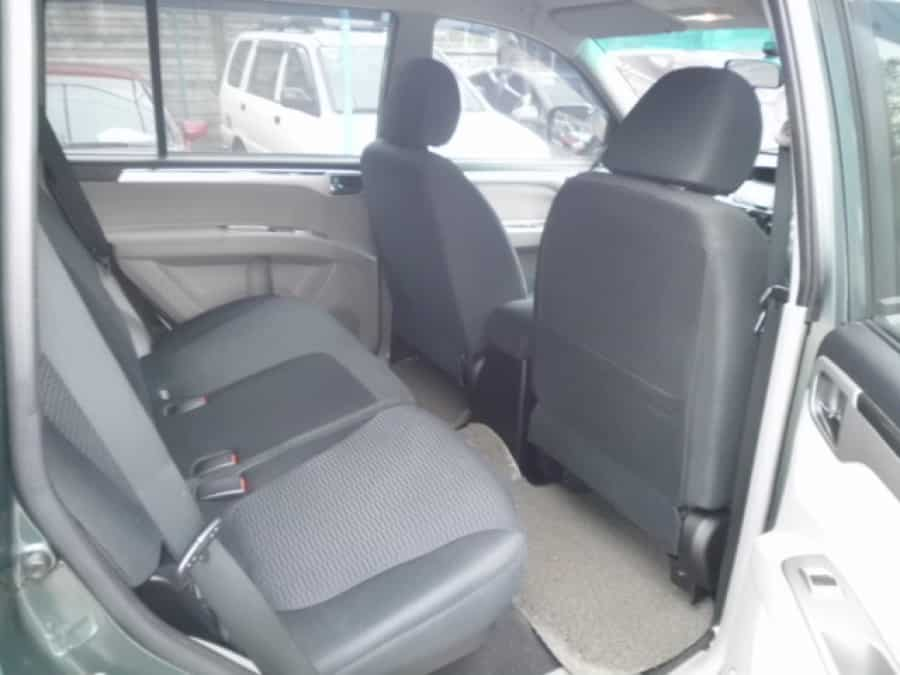 2009 Mitsubishi Montero Sport - Interior Rear View
