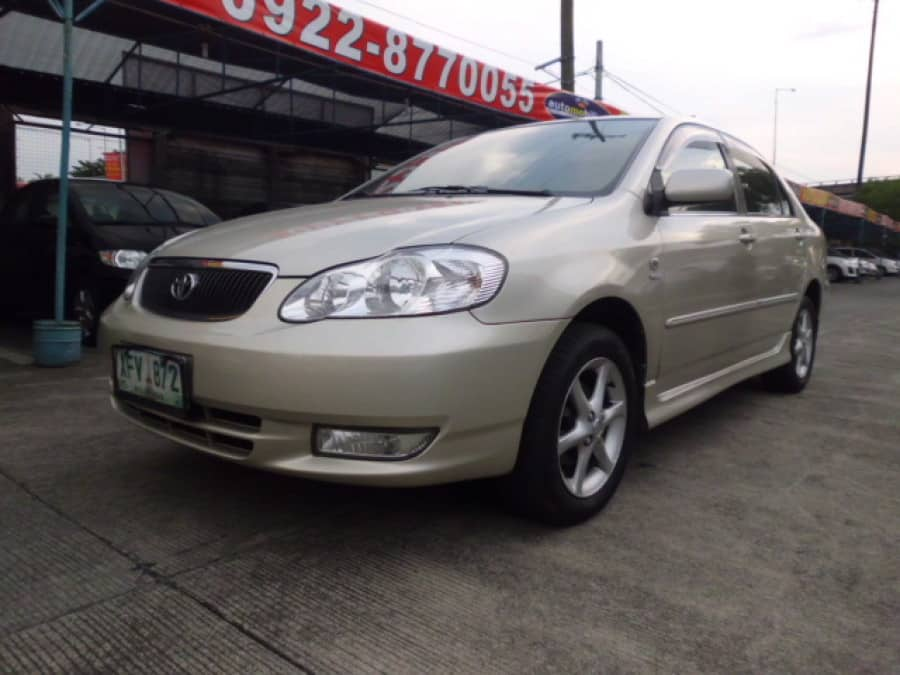 2003 Toyota Altis - Front View