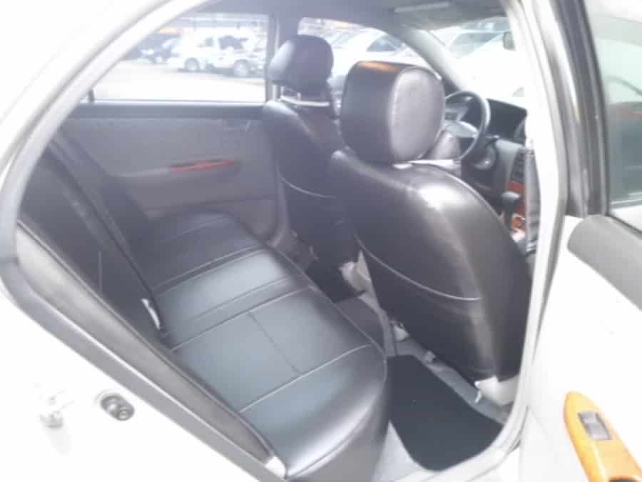 2003 Toyota Altis - Interior Rear View