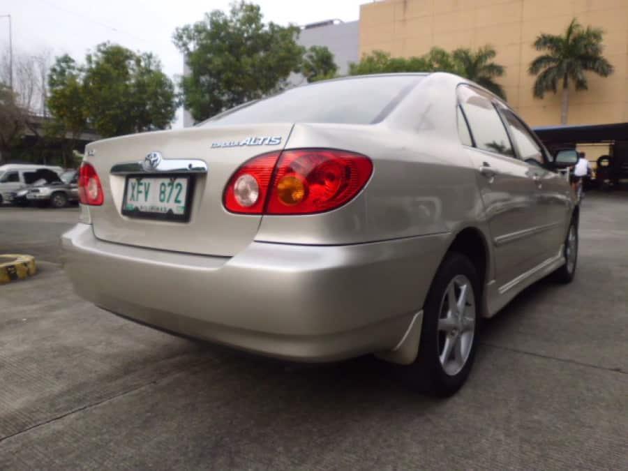 2003 Toyota Altis - Rear View