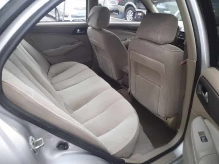2002 Nissan Sentra - Interior Rear View
