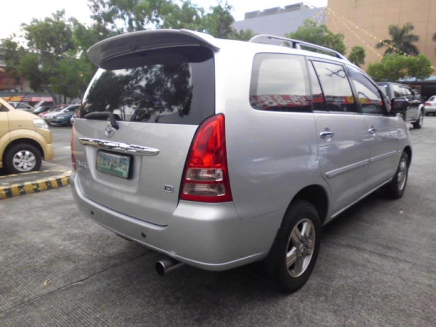 2005 Toyota Innova G - Rear View