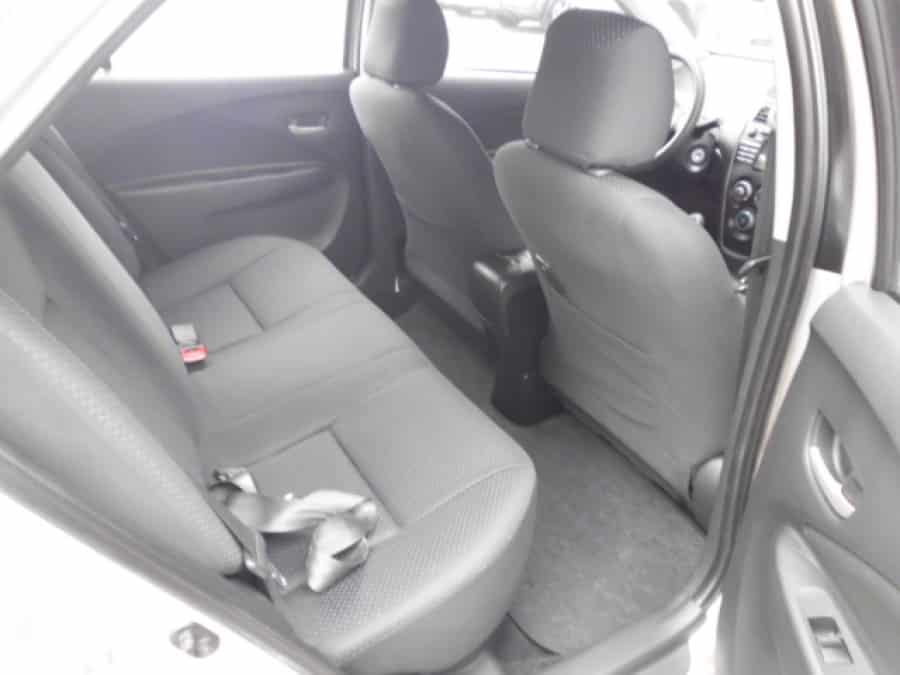 2008 Toyota Vios - Interior Rear View