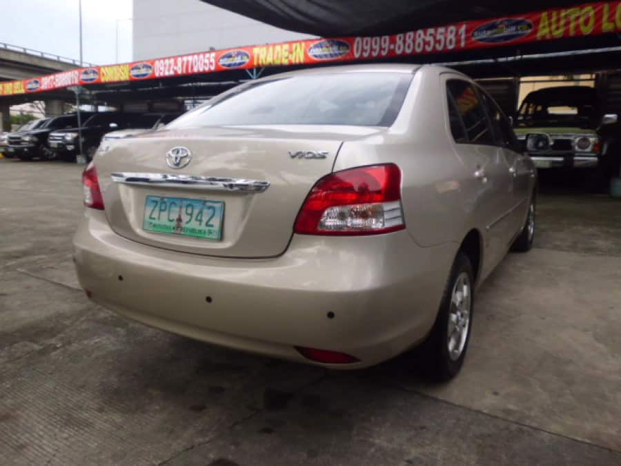2008 Toyota Vios - Rear View