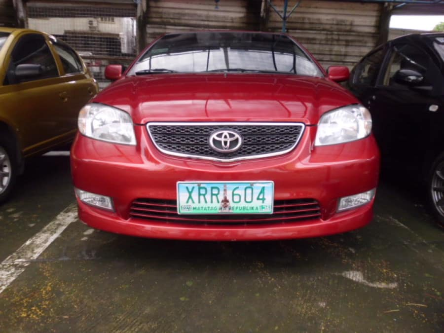2004 Toyota Vios - Front View