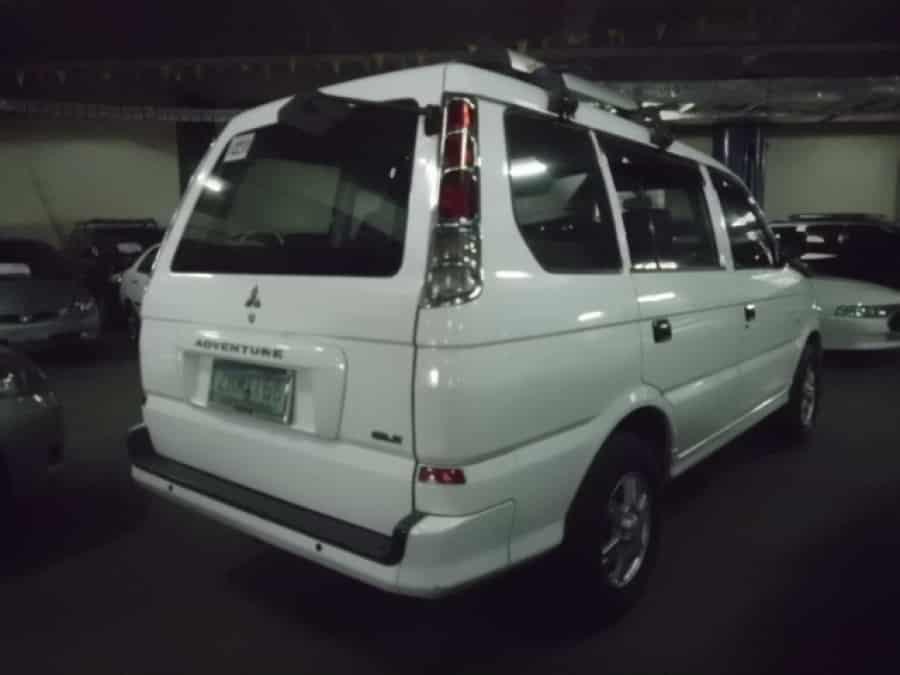 2008 Mitsubishi Adventure - Rear View