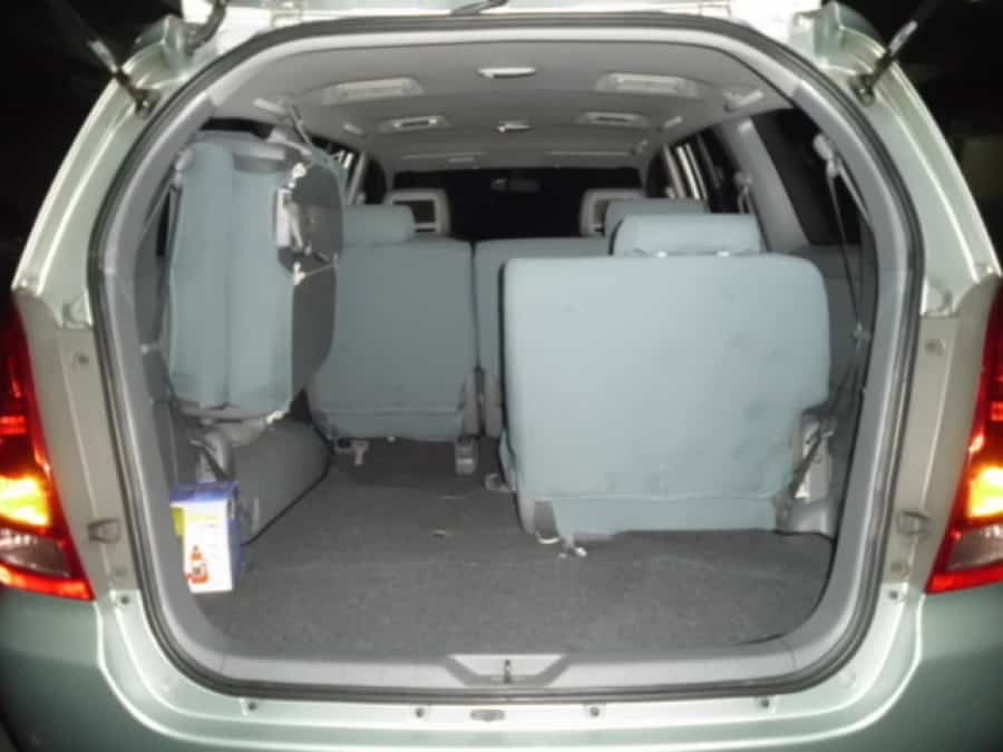 2008 Toyota Innova E - Interior Rear View