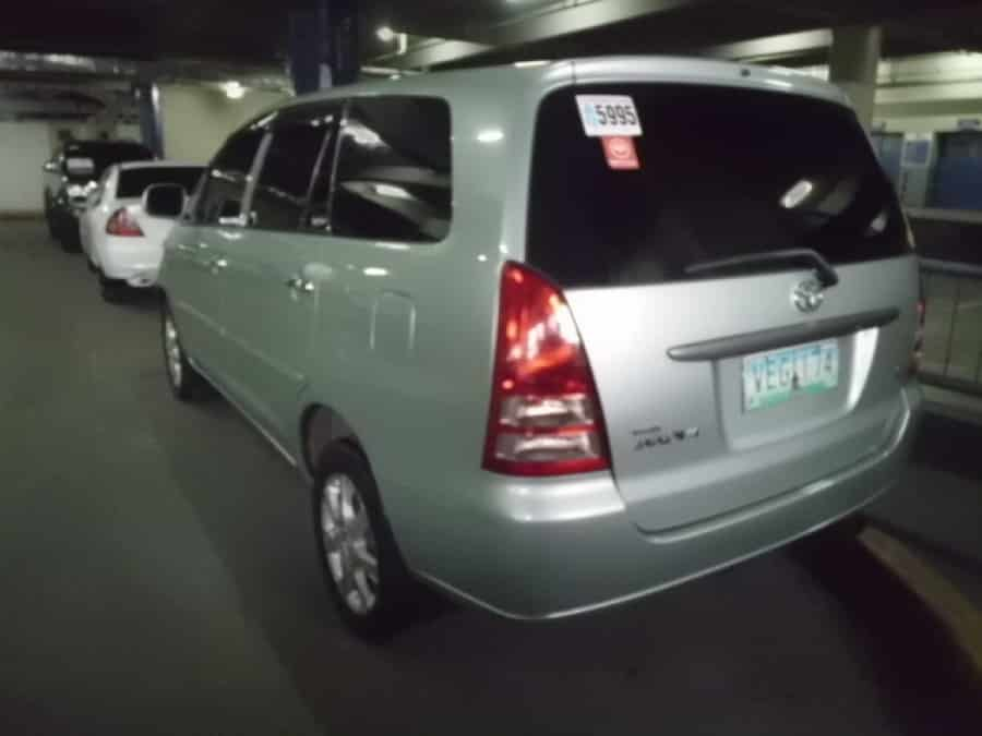 2008 Toyota Innova E - Rear View