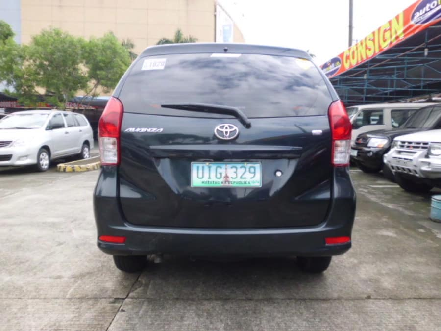 2012 Toyota Avanza - Rear View