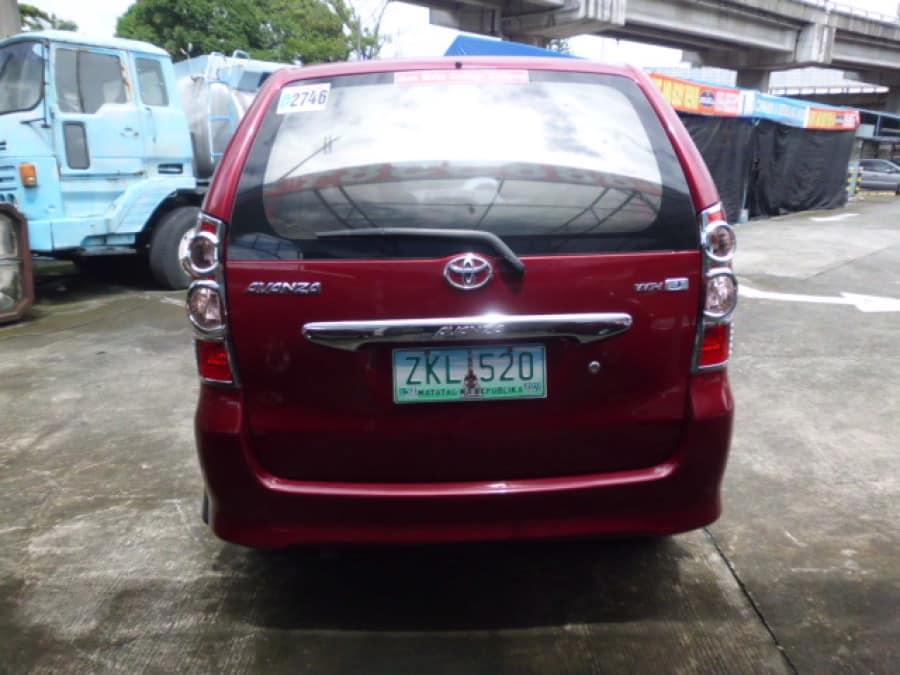 2007 Toyota Avanza - Rear View