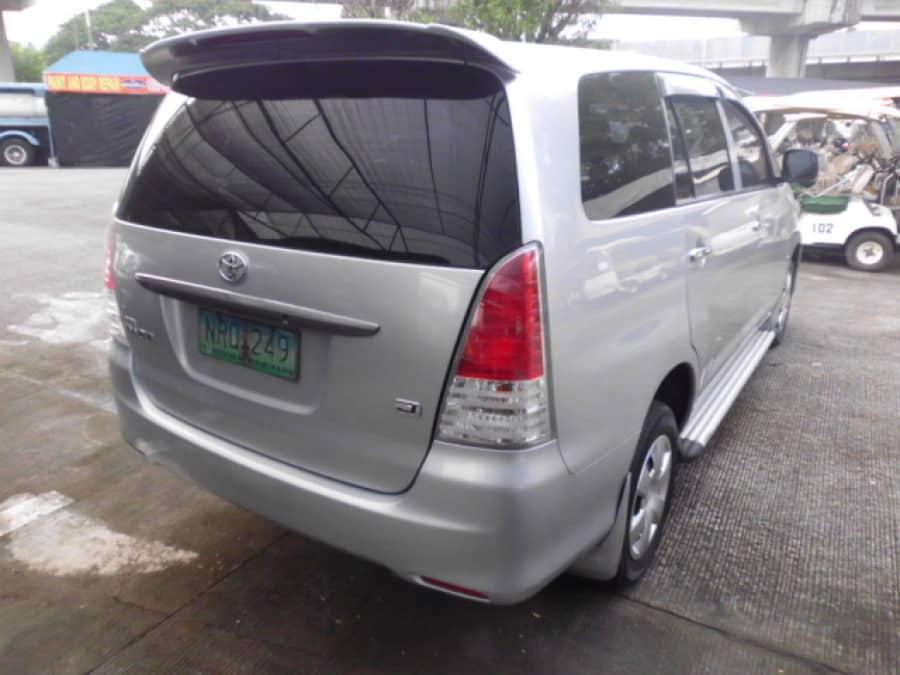 2009 Toyota Innova J - Rear View