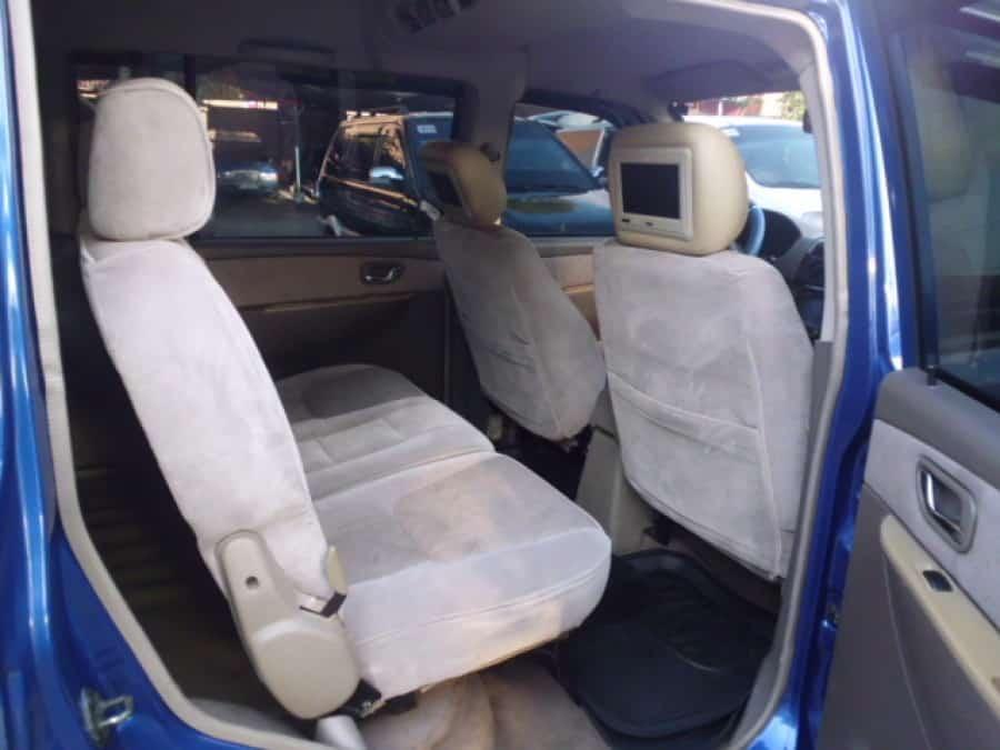 2007 Mitsubishi Adventure - Interior Rear View