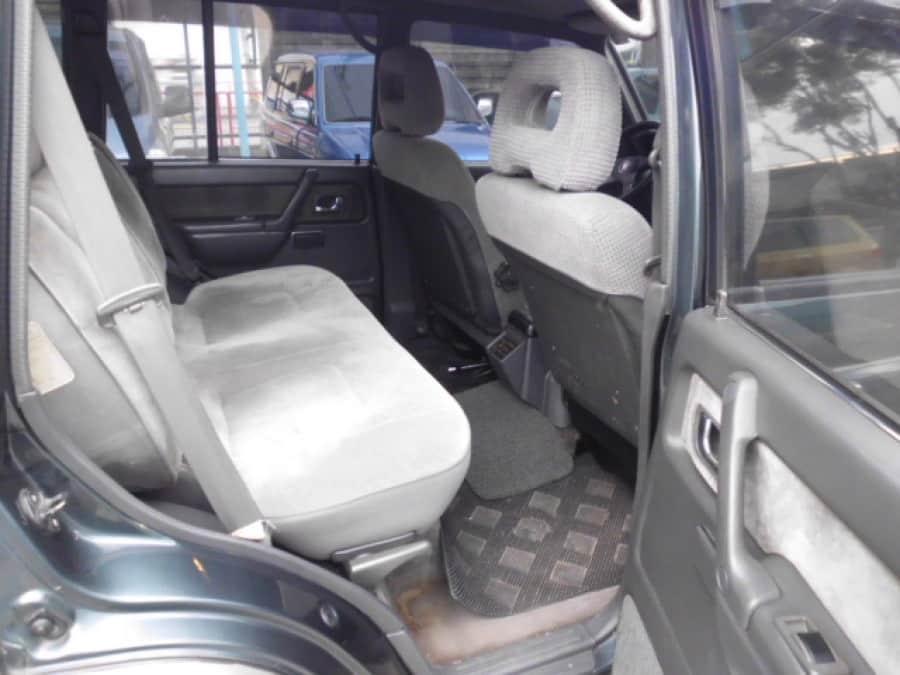 2002 Mitsubishi Pajero - Interior Rear View