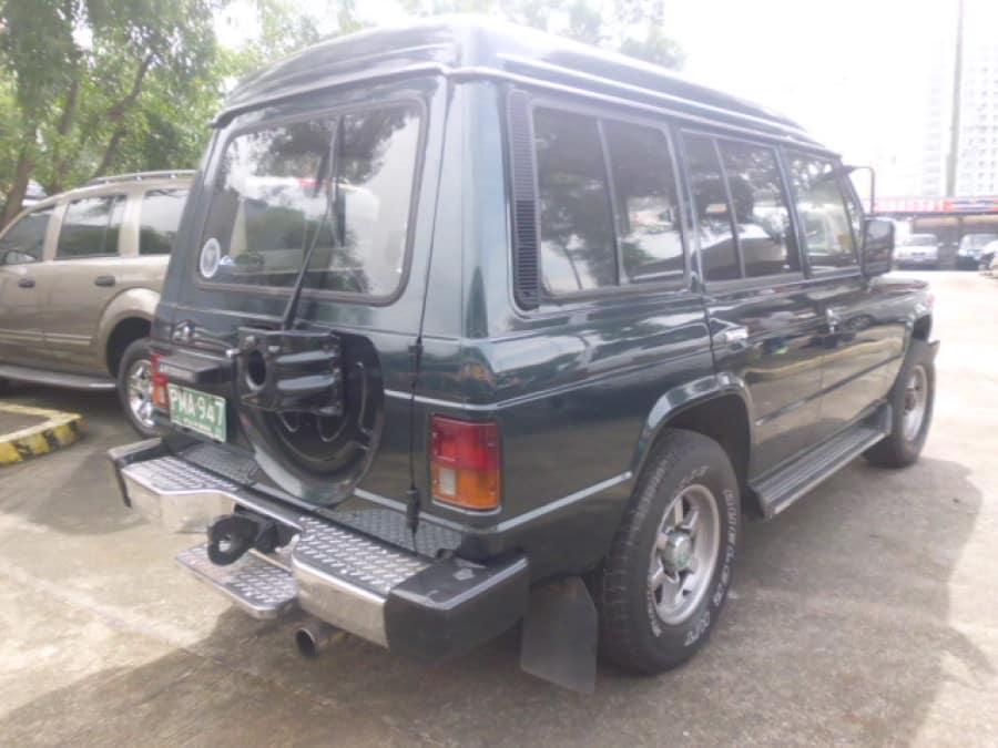 1989 Mitsubishi Pajero - Rear View
