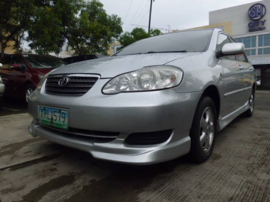 2004 Toyota Altis - Front View