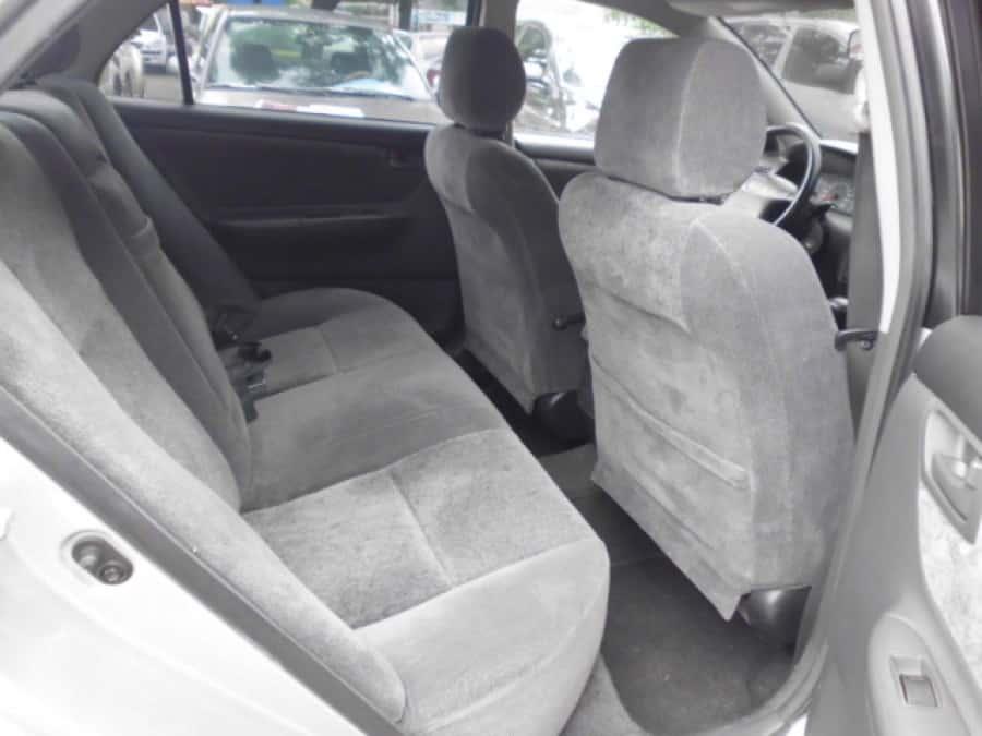 2004 Toyota Altis - Interior Rear View