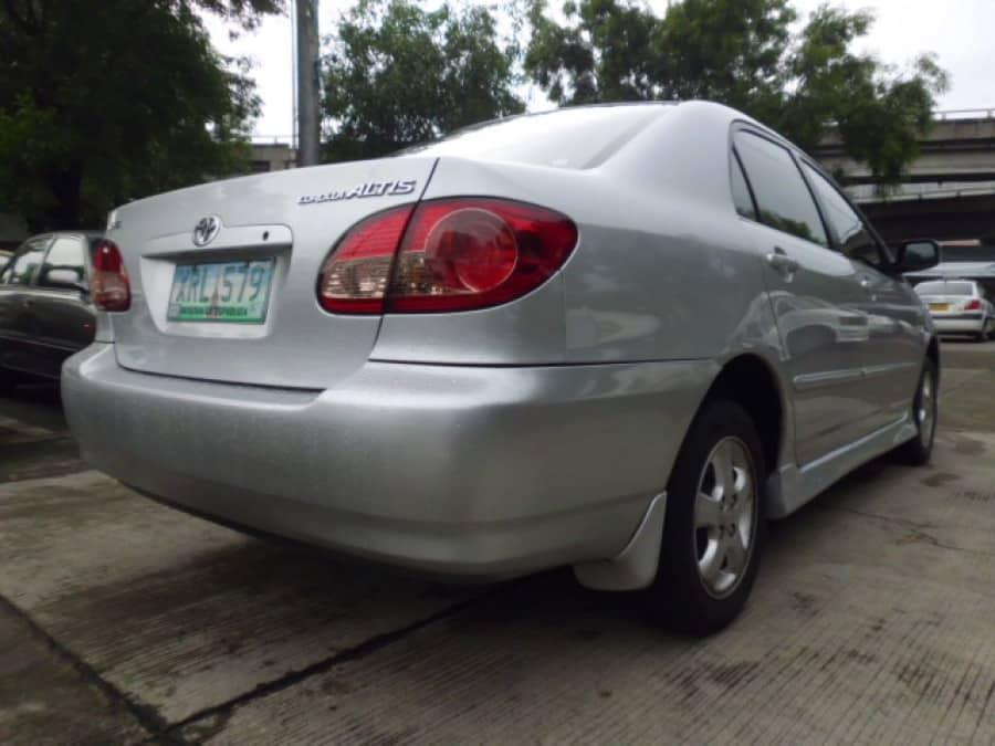 2004 Toyota Altis - Rear View