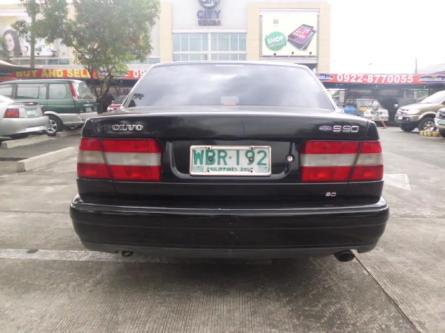 1997 Volvo S90 - Rear View