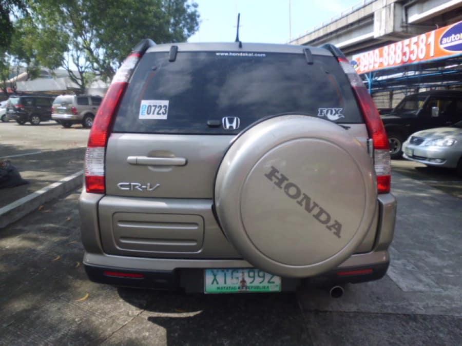 2005 Honda CR-V - Rear View
