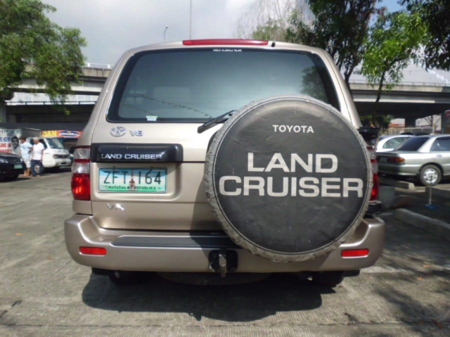 2004 Toyota LandCruiser - Rear View