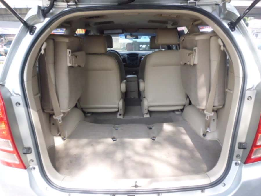 2008 Toyota Innova V - Interior Rear View
