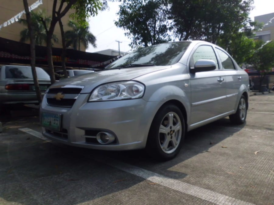 2010 Chevrolet Aveo - Front View