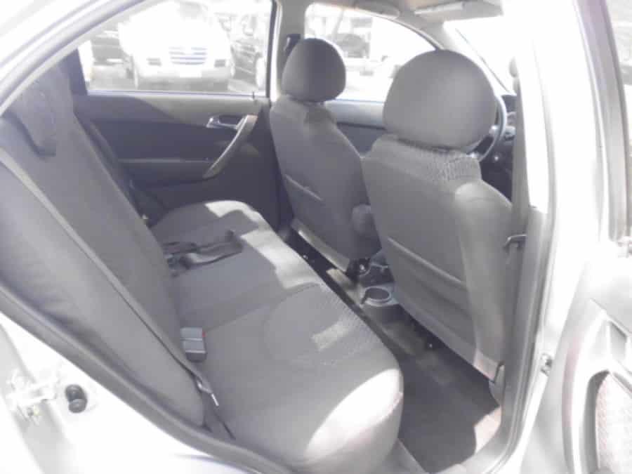 2010 Chevrolet Aveo - Interior Rear View