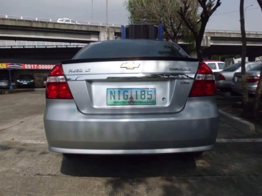 2010 Chevrolet Aveo - Rear View