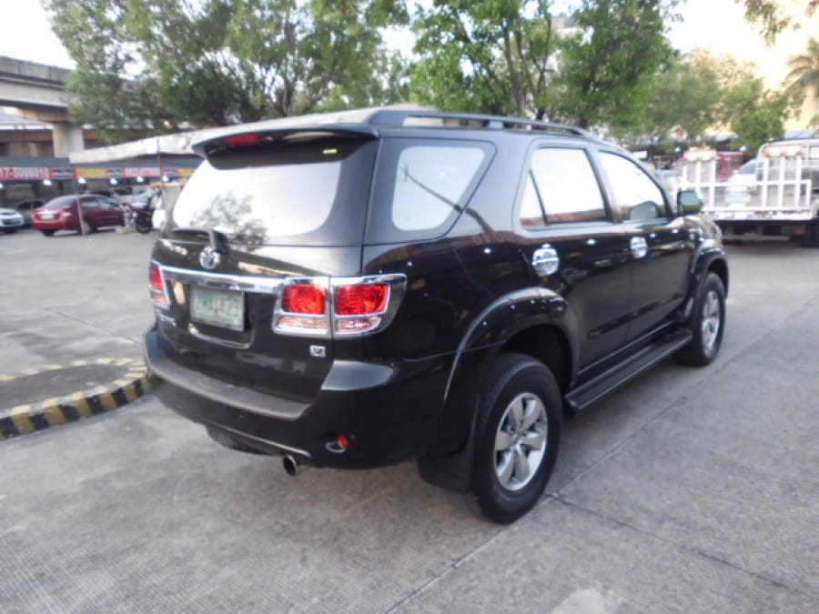 2008 Toyota Fortuner - Rear View