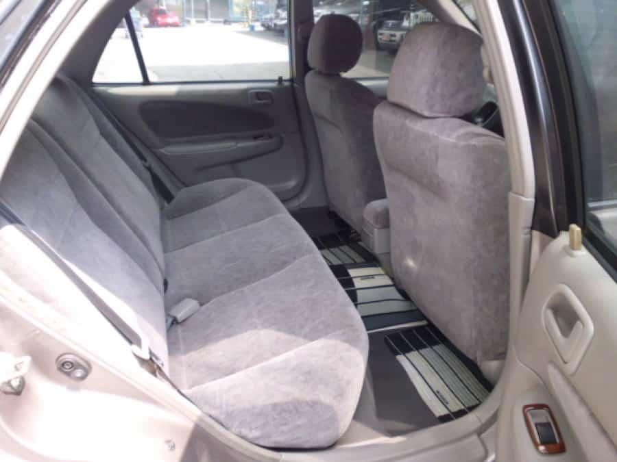 1999 Toyota Corolla - Interior Rear View