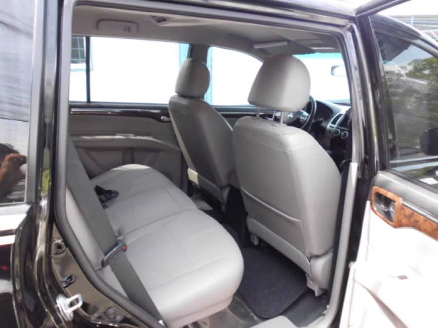 2012 Mitsubishi Montero Sport - Interior Rear View