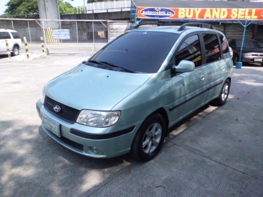 2005 Hyundai Matrix - Front View