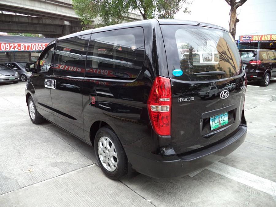 2011 Hyundai Starex - Rear View