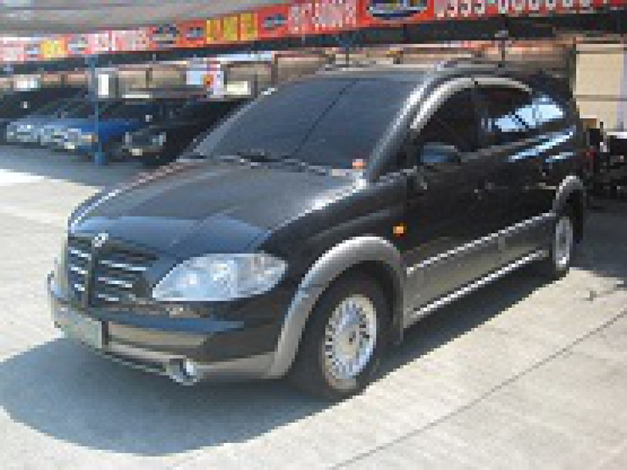 2005 Ssang Yong Rexton - Front View