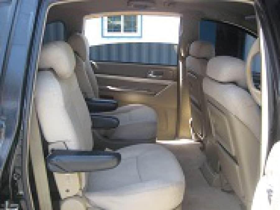 2005 Ssang Yong Rexton - Interior Rear View