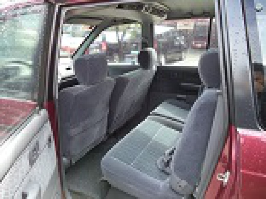 1999 Toyota Revo - Interior Rear View