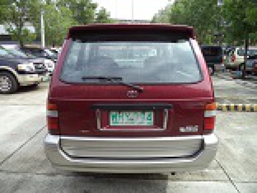 1999 Toyota Revo - Rear View