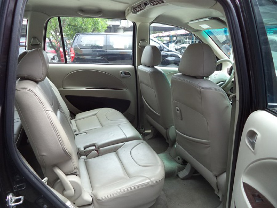 2008 Mitsubishi Fuzion - Interior Rear View