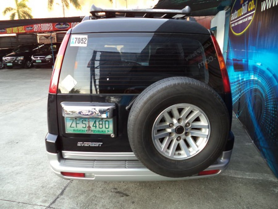 2006 Ford Everest - Rear View