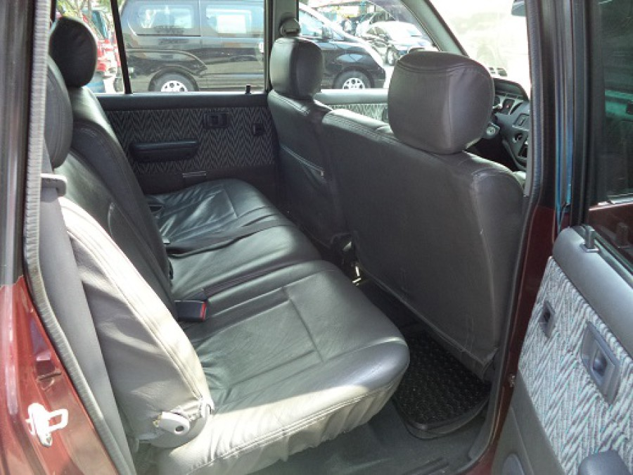 2002 Toyota Revo - Interior Rear View