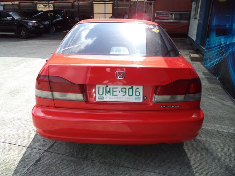 1997 Honda Civic - Rear View