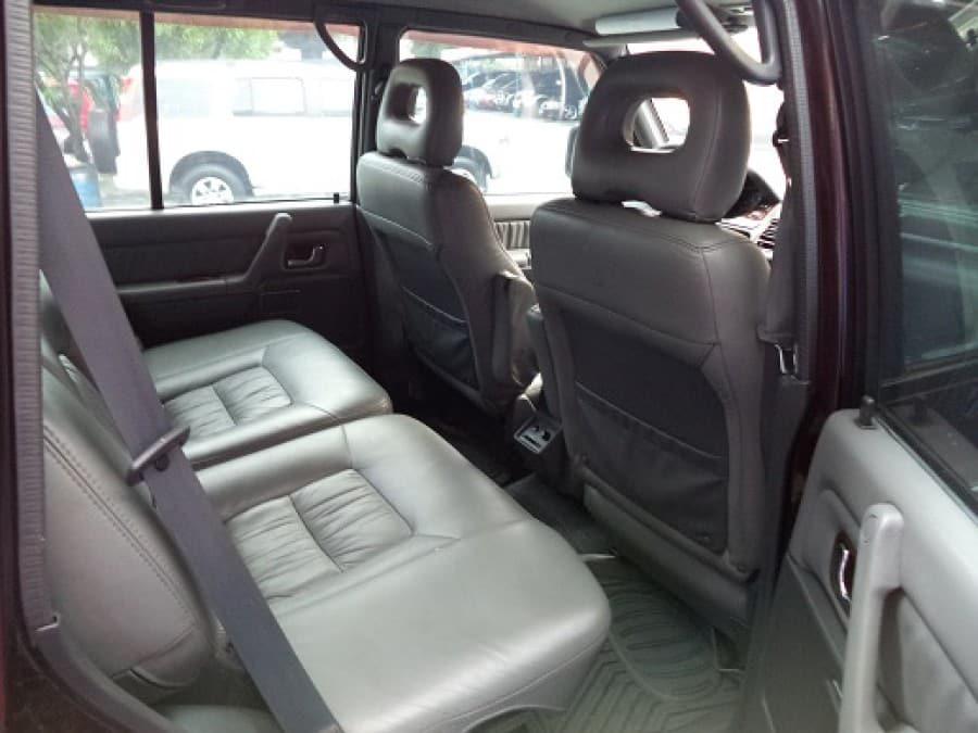 2001 Mitsubishi Pajero - Interior Rear View