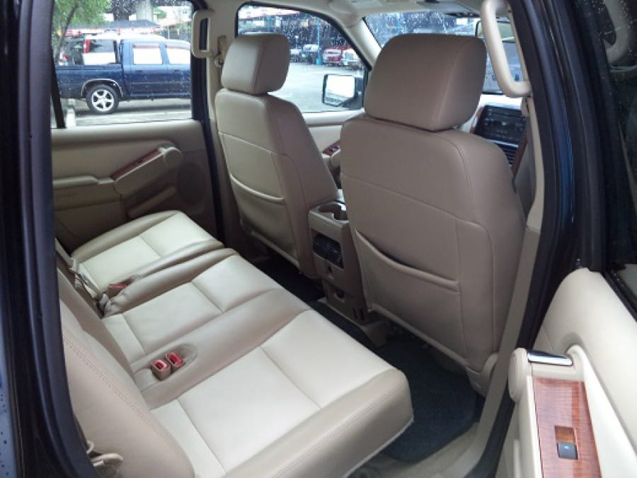 2007 Ford Explorer - Interior Rear View
