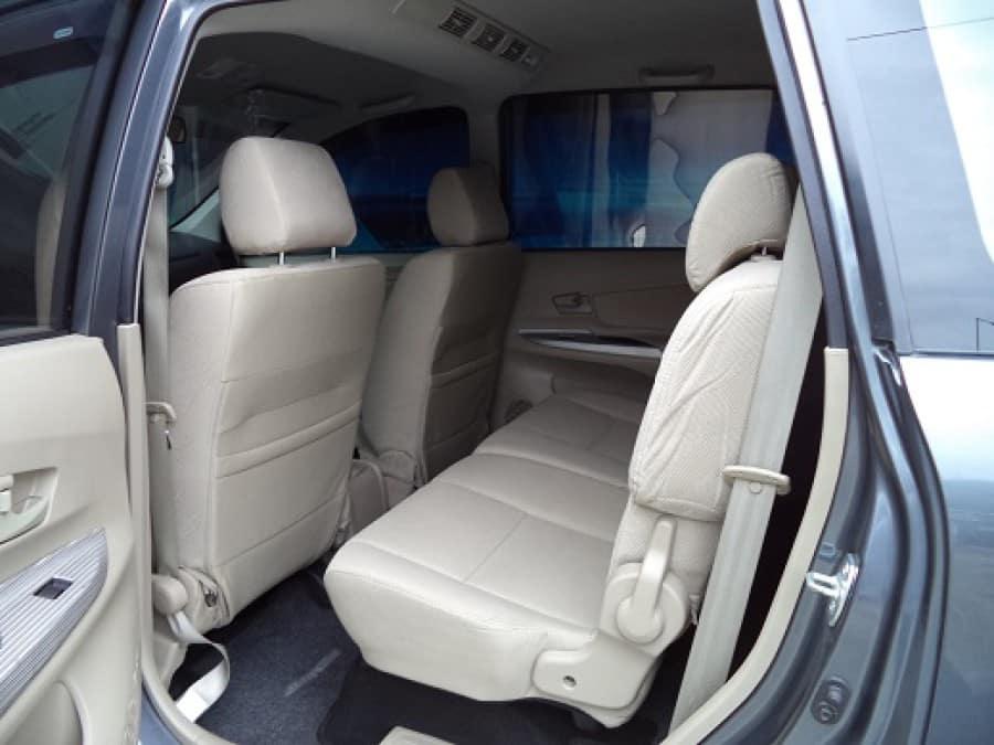 2013 Toyota Avanza - Interior Rear View